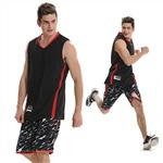 807黑色篮球服套装