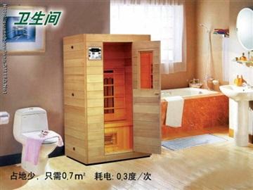 光波浴房(頻譜能量屋)用于保健沐浴原理