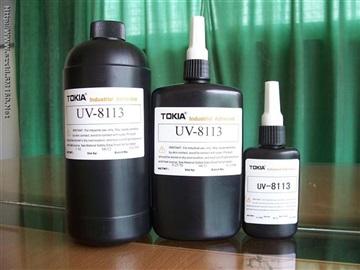 供应UV-8113塑胶UV胶水、紫外线胶、无影胶、太阳胶水