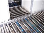 供應物流輸送滾筒式流水生產線