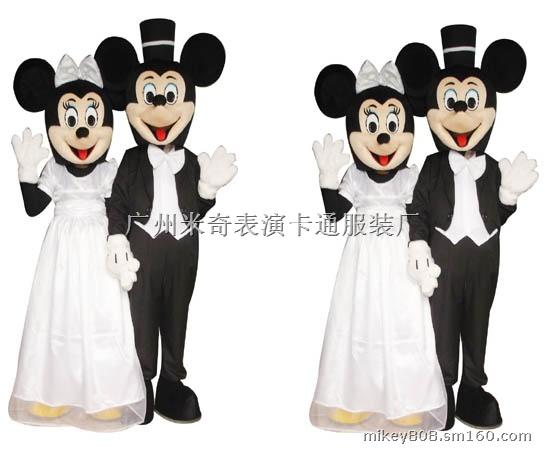 供应表演服装卡通服装卡通人偶米老鼠