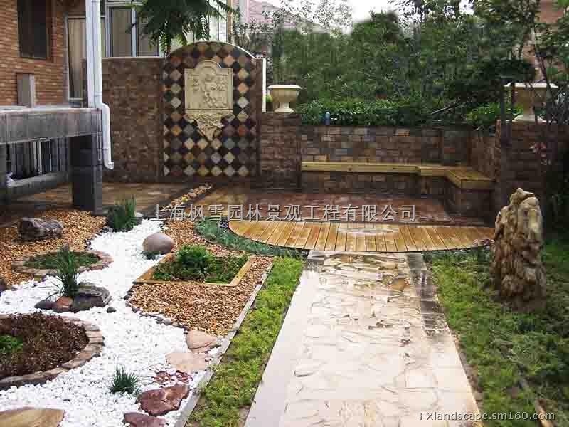 上海庭院设计与施工屋顶花园假山水景户外广告招牌