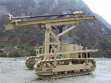 KQ-90Y小型履带式液压潜孔钻机