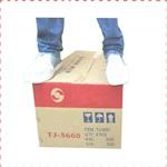 硬度展示5層加硬包裝紙箱色帶紅黑藍多色