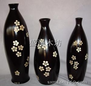 【木制花瓶】木制工艺品批发价格