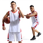 駿帆服飾510籃球訓練服定制免費印號碼
