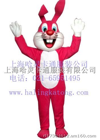 售租兔子衣服动物人偶红娘免|哈灵卡通