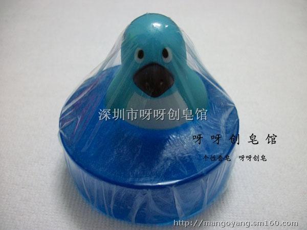 创意手工香皂 儿童肥皂洗手皂 透明香皂玩具香皂