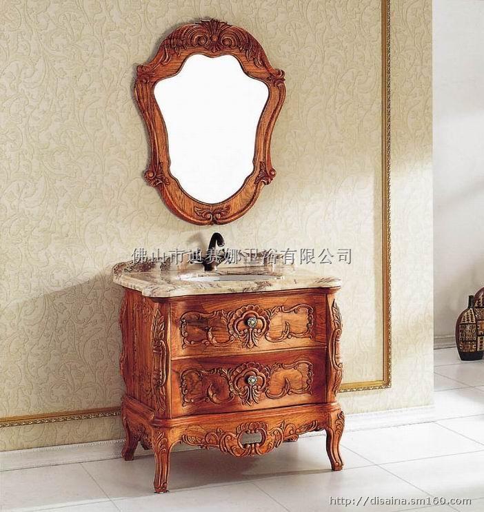 广州法式浴室柜 自定义分类:佛山欧式仿古浴室柜
