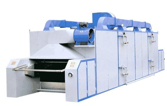 1、 祝福传动链均采用变频调速以适应不同绞纱的烘干要求; 2、 每烘箱均为独立温度控制,温度偏差小; 3、 每烘箱均设有独立抽湿机一台,达至节省能源效果; 4、 挂纱纱杆坚固耐用; 5、 整机装贴保温层,强力主风机及高效能散热器,能使热风渗透绞纱及循环使用; 6、 机尾出口装设冷风箱,使绞纱回潮及冷冻功能; 7、 机头入口装设大型风闸,将脱水后的绞纱吹松及减少热风排除机外,令操作环境更佳; 8、 每烘箱均独立配造,安装省时及日后可随意增加箱体配合生产量; 9、 首创活动开闸式保温门,方便检查和维修。
