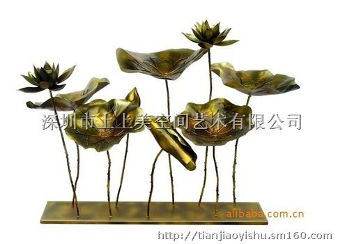 金属雕塑摆件