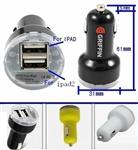 UL认证3400mA 车载充电器 usb车载充电器