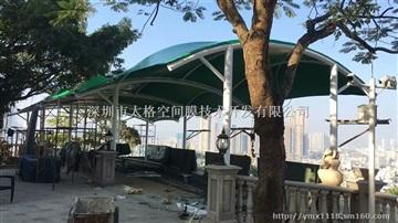 平湖公園景觀張拉膜結構工程