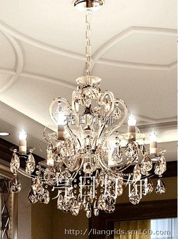 欧式纯美水晶灯 蜡烛灯 lr-6a9991