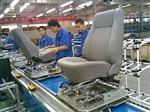座椅装配生产流水线
