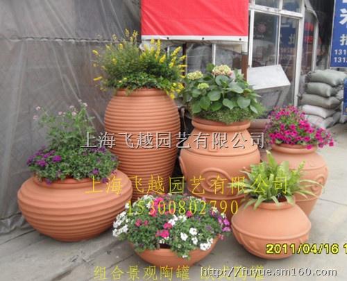 欧式花盆-艺术景观花盆-陶罐陶艺-园林陶罐