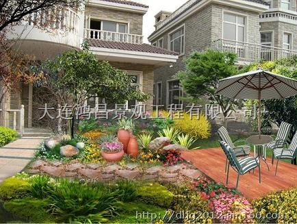 大连别墅景观|大连私家庭院|大连屋顶花园|大连园林造景|大连别墅