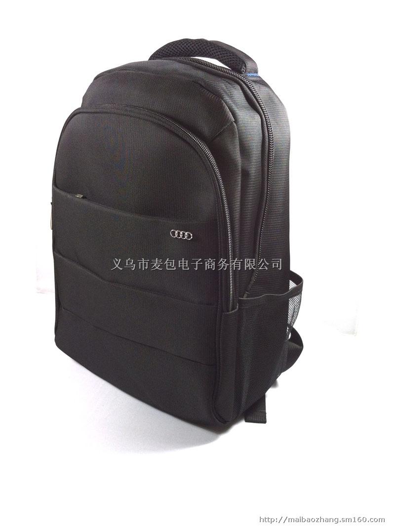 奥迪汽车定制礼品双肩电脑包,商务电脑背包
