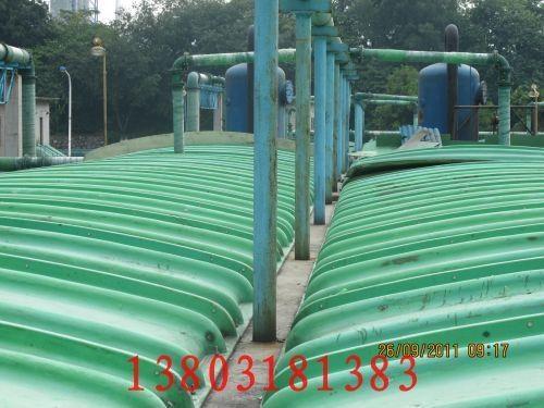 玻璃钢盖板污水处理厂图片