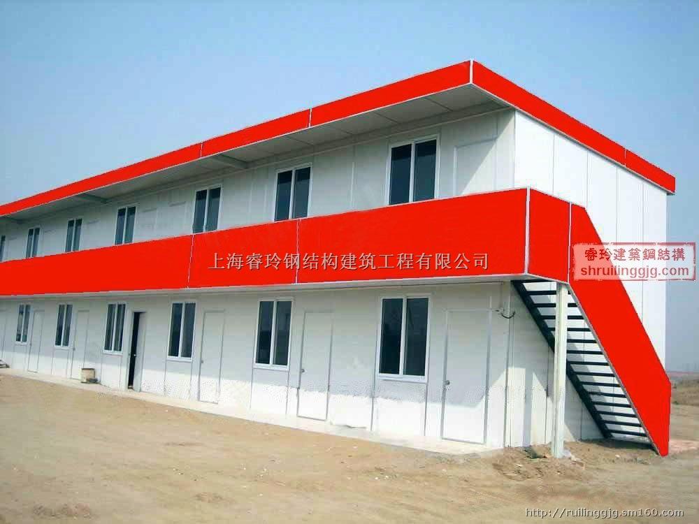 上海钢结构厂房彩钢板房制作安装