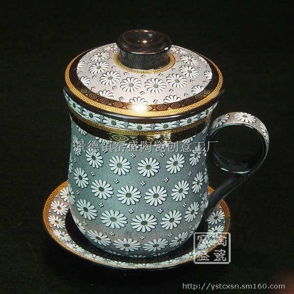 手工色釉茶具茶盘,手绘青花瓷,等各种工艺礼品陶瓷.