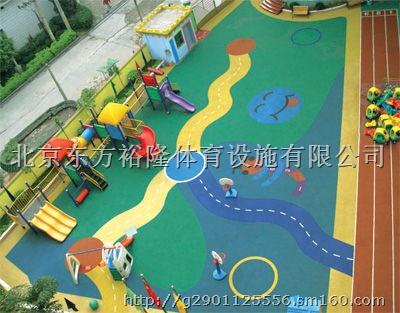 幼儿园塑胶地面铺设 幼儿园地胶铺设