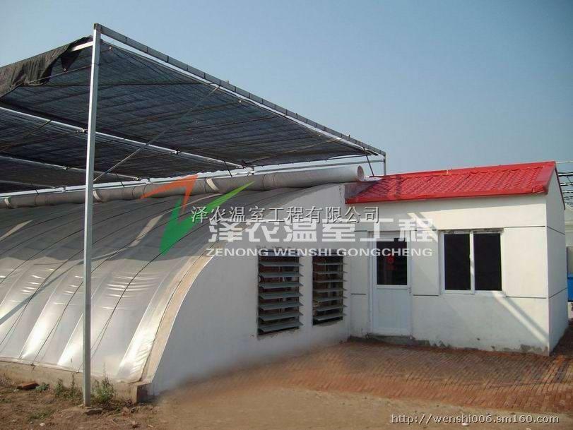 冬暖式日光温室大棚防塌陷设计