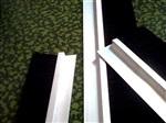 供应 单双排条刷 F型h型条刷 铝套条刷