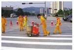 重慶小區道路劃線 車庫專業劃線施工公司價格