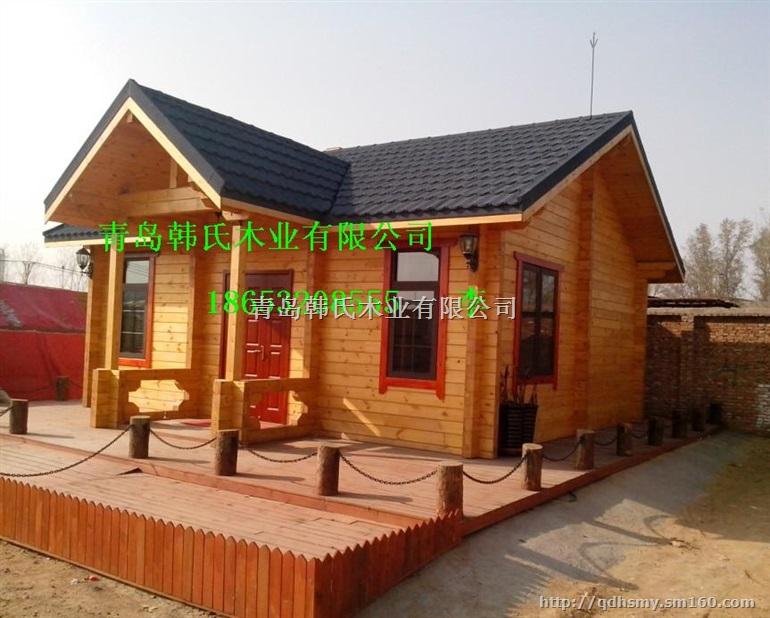 青岛木房子,防腐木阳光房设计制作