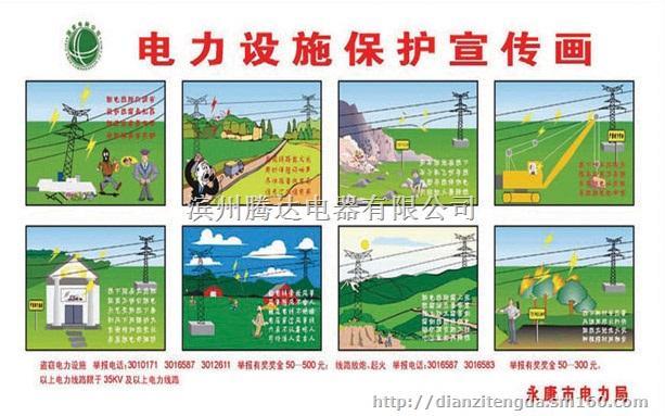 电力宣传挂图,安全用电宣传图,安全用电常识挂图,电力