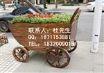 启东花车价格 海门市实木花箱厂家 实木售货车供应
