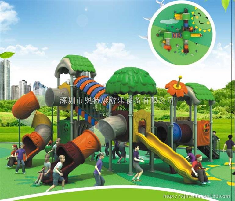 深圳儿童滑梯,深圳小区儿童游乐场滑滑梯专业设计厂家图片