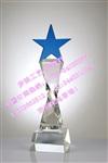 五角星水晶奖杯直销五角星水晶奖杯水晶五角星纪念品