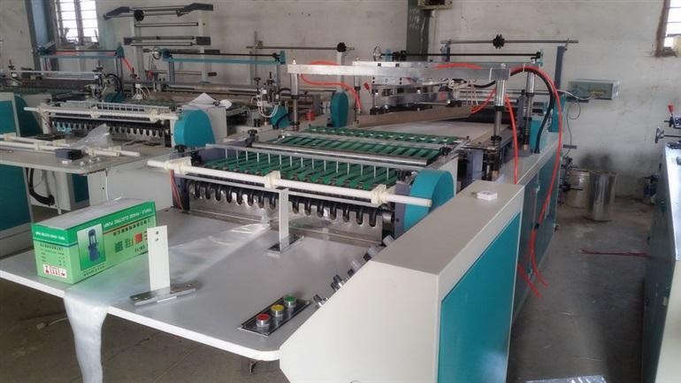 一次性裱花袋生产机器 挤花袋生产设备 塑料奶油袋