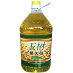湖北名品玉树食用油玉树大豆油精炼一级大豆油5L/桶