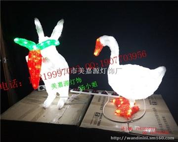 火烈鸟造型灯,立体小白兔LED造型灯,十二生肖造型