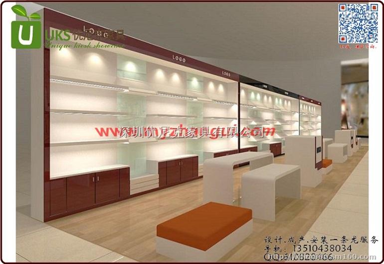 大型商場箱包展柜 皮具展示柜 專賣店裝修設計柜子