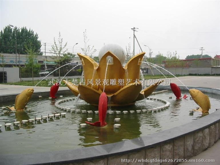 武汉古风艺术有限公司专业制作玻璃钢园林景观雕塑,有着十