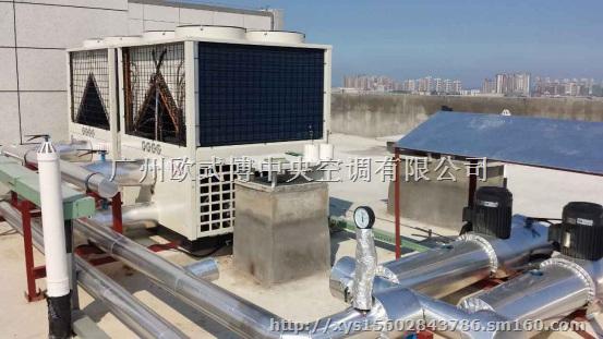 供应河北承德超低温空气源热泵供暖机组