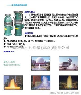 武汉喷泉设备公司提供湖北武汉喷泉专用泵2019年