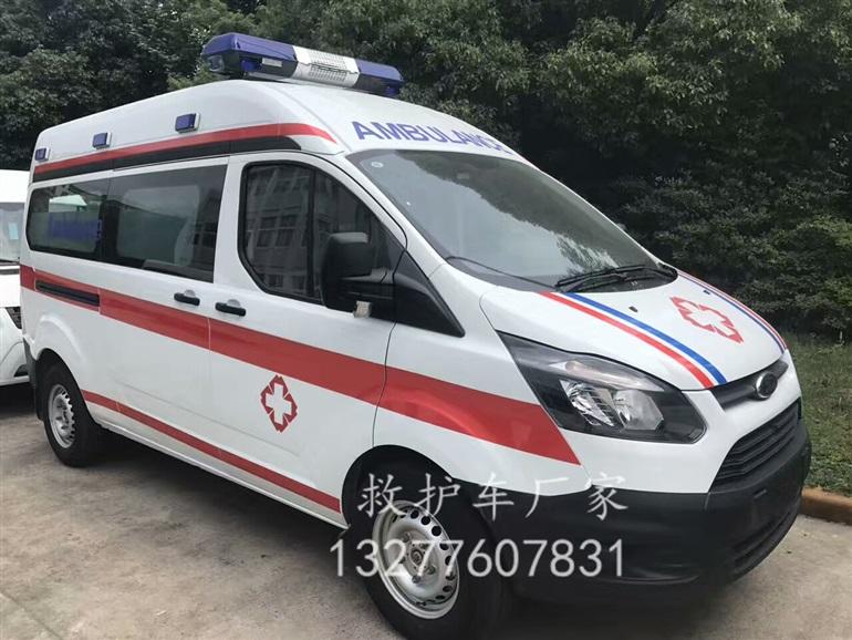 全顺新款长轴救护车图片 价格