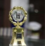 鋼制圓水晶環獎杯