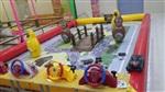电子轨道儿童益智模型玩具 大中型车模型亲子互动游乐