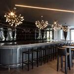 銘星創意LED螢火蟲吊燈簡約現代客廳個性樹枝圓形餐
