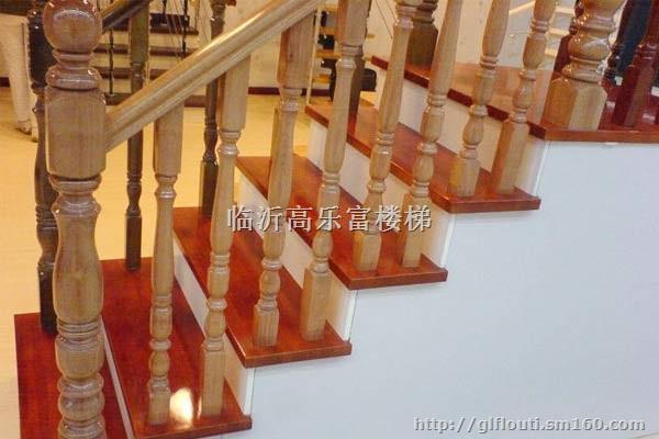 楼梯柱子批发专业生产实木楼梯 实木楼梯扶手 弯曲异