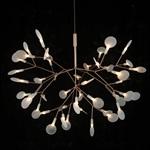 萤火虫 新款树枝形萤火虫LED叶子吊灯moooi灯