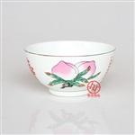 骨质瓷寿碗 寿诞回礼骨瓷寿碗