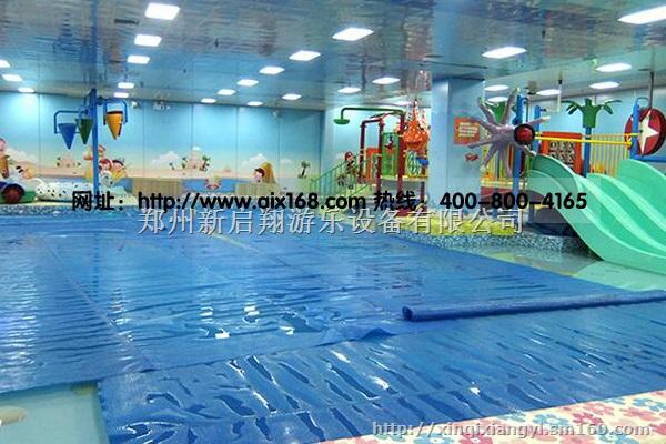 新启翔游乐室内儿童水上乐园项目不一样的水上乐园加盟