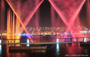 武汉喷泉公司-河中喷泉公司-江中公司-湖里喷泉安装